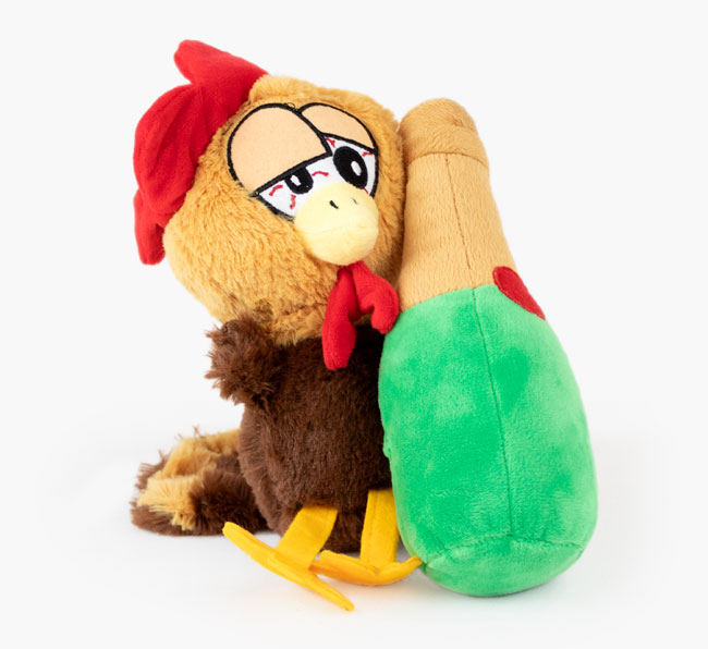 Tipsy Turkey Dog Toy