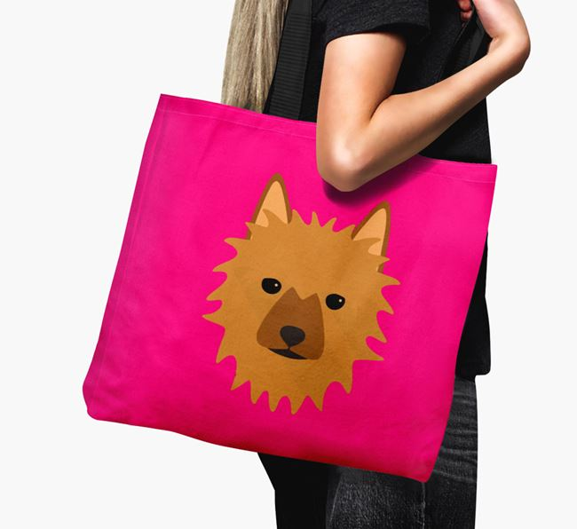 Dog Icon Canvas Bag