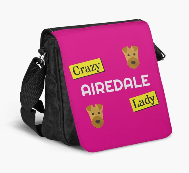 Crazy Dog Lady Shoulder Bag