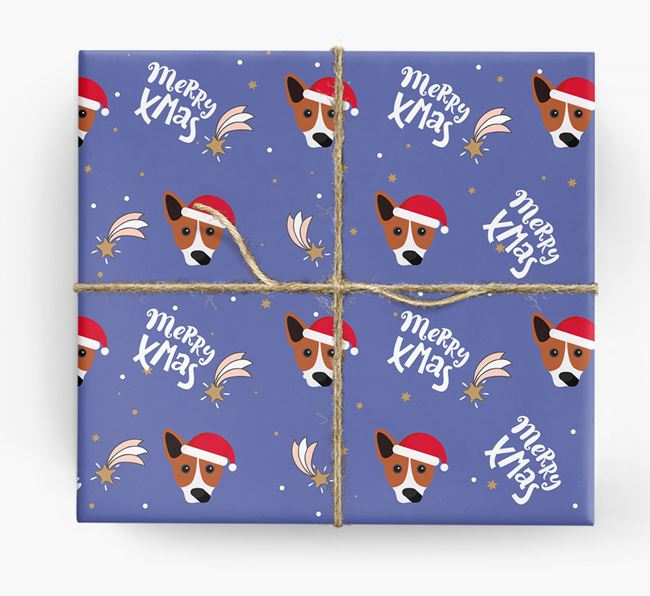 'Merry X-Mas' Wrapping Paper for your Cojack