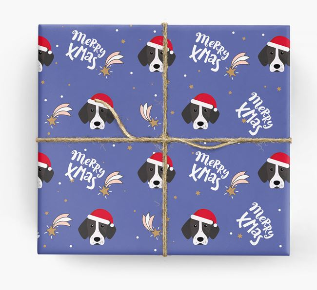 'Merry X-Mas' Wrapping Paper for your Pointer