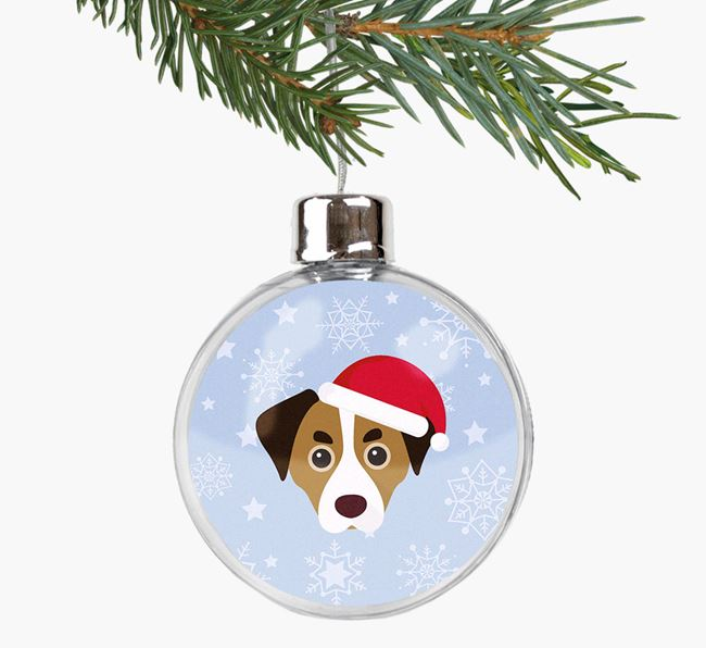 Fillable Bauble with your Cheagle Christmas Icon