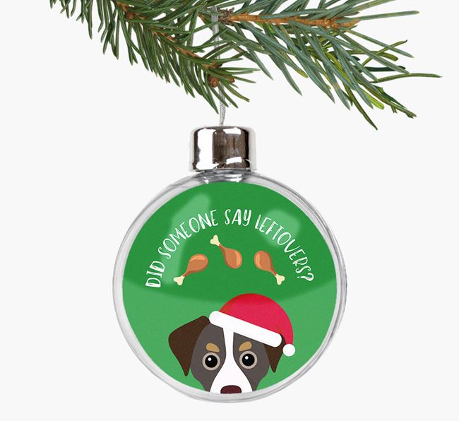 Fillable Bauble 'Leftovers' with your Cheagle Christmas Icon
