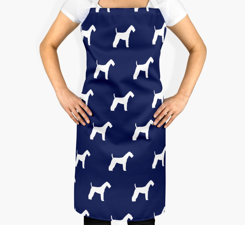 Airedale Terrier Silhouette Apron - 2