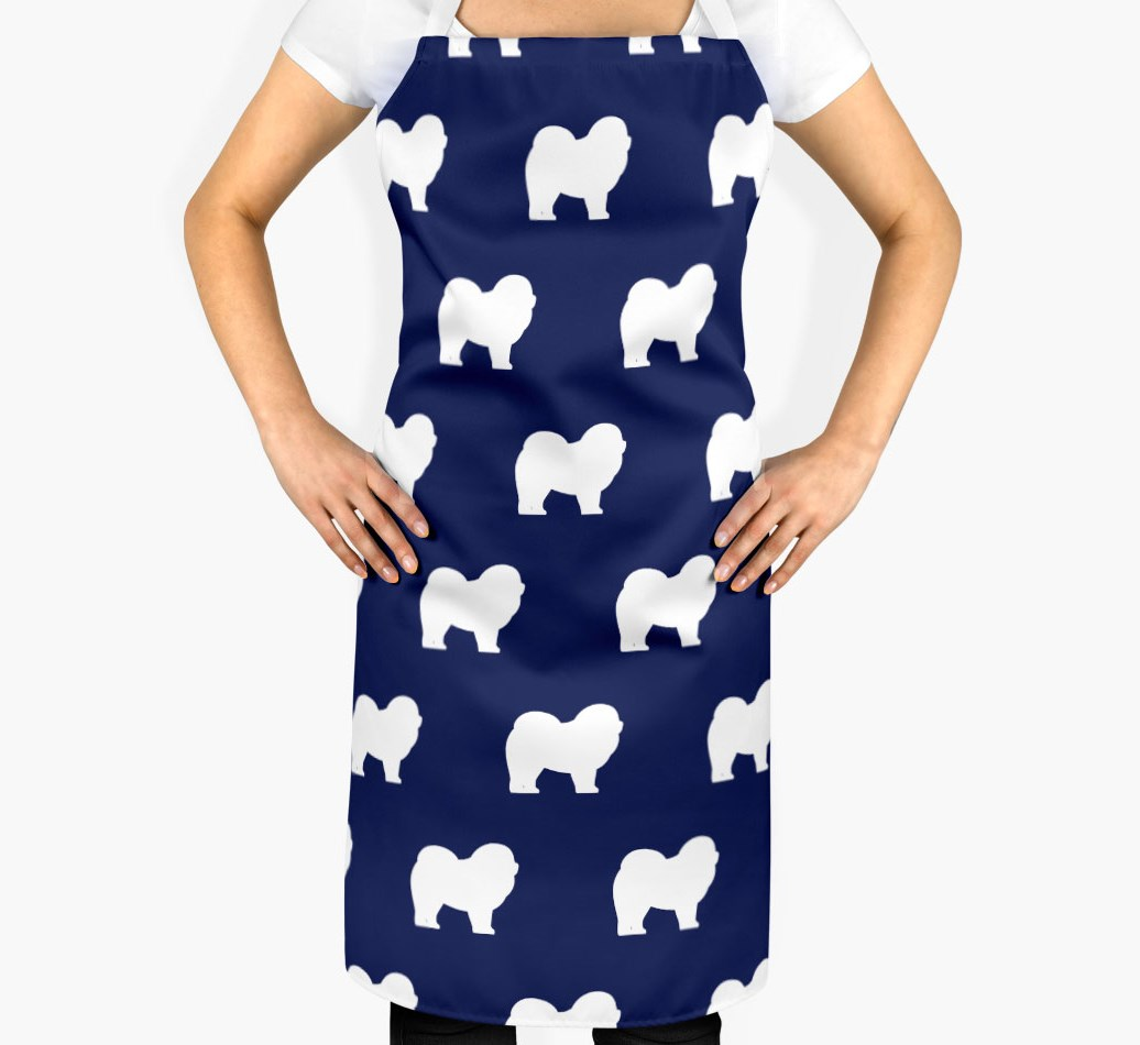 Chow Chow Silhouette Apron - 2