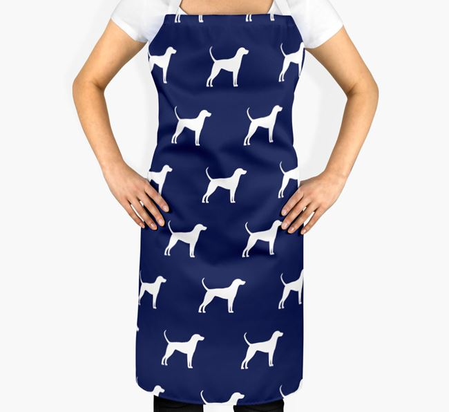 English Coonhound Apron - Silhouettes