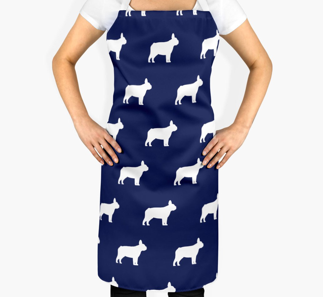 French Bulldog Silhouette Apron - 2
