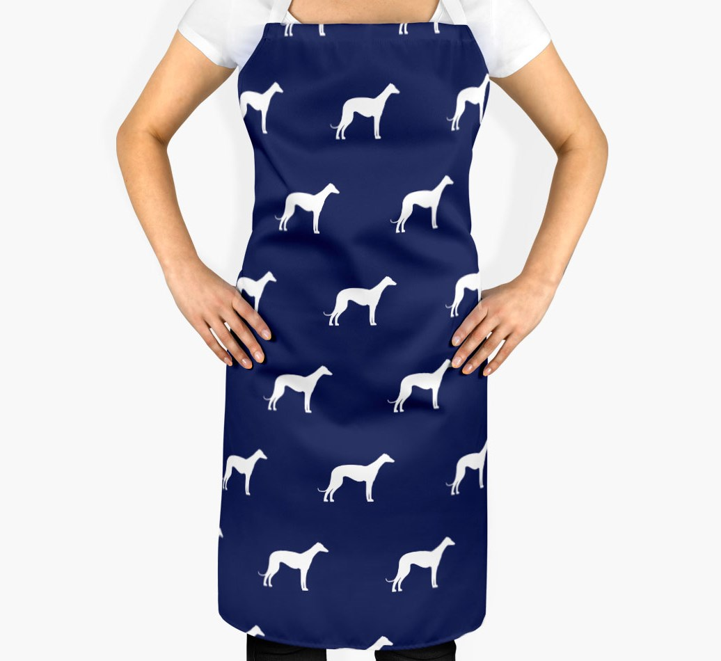 Whippet Silhouette Apron - 2