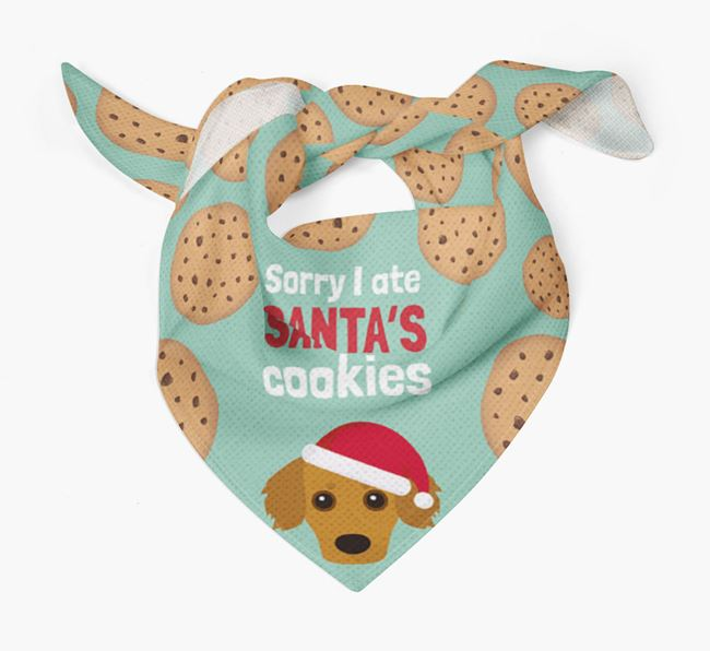 'I ate Santa's Cookies' Christmas Bandana with Kokoni Icon