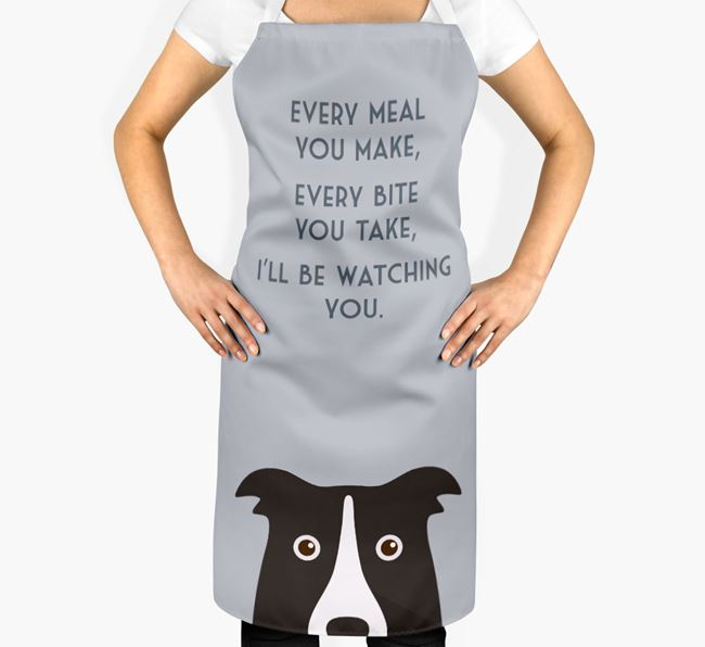 Dog Apron - I'll be watching you