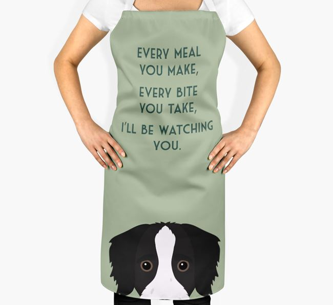 Bordoodle Apron - I'll be watching you