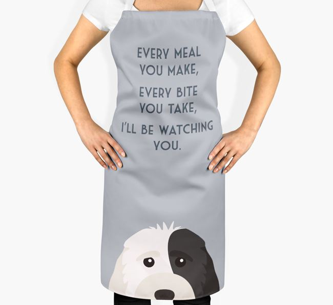 Cockapoo Apron - I'll be watching you