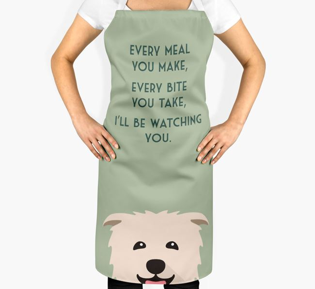 Glen Of Imaal Terrier Apron - I'll be watching you