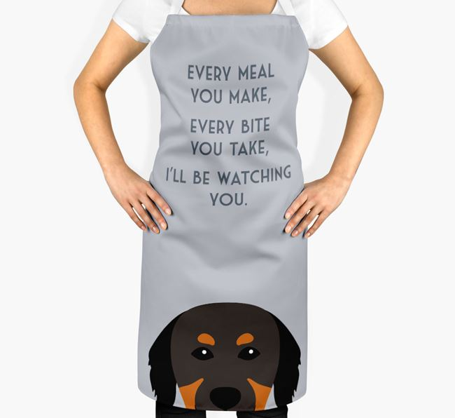 Hovawart Apron - I'll be watching you