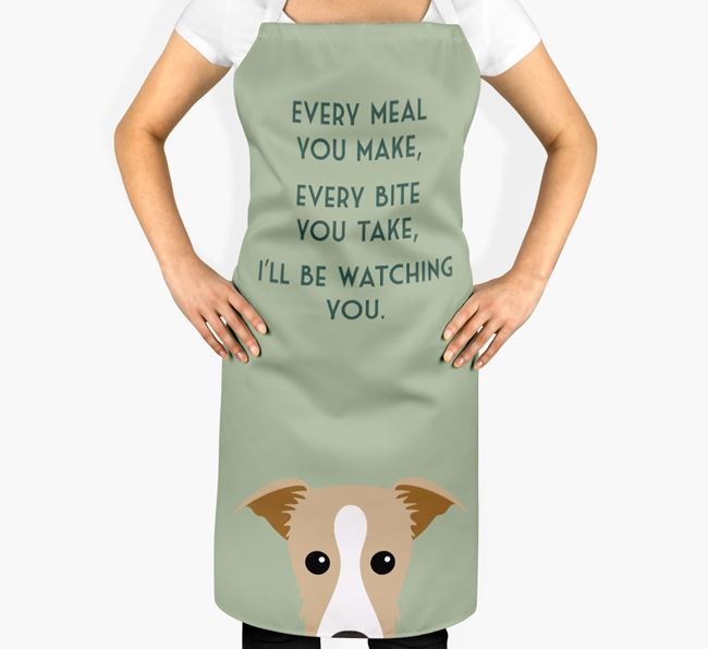 Lurcher Apron - I'll be watching you