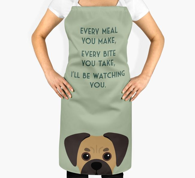 Pugalier Apron - I'll be watching you
