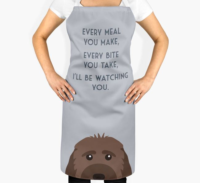 Rescue Dog Apron - I'll be watching you