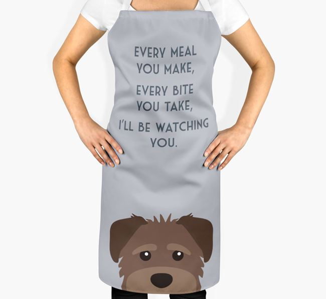 Schnoodle Apron - I'll be watching you
