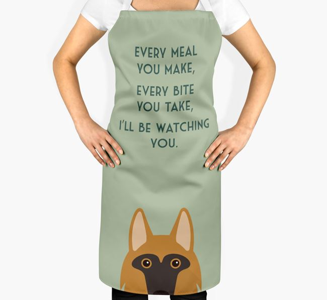 Shollie Apron - I'll be watching you