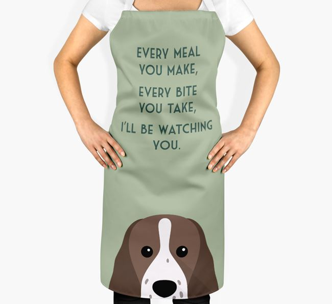 Sprocker Apron - I'll be watching you