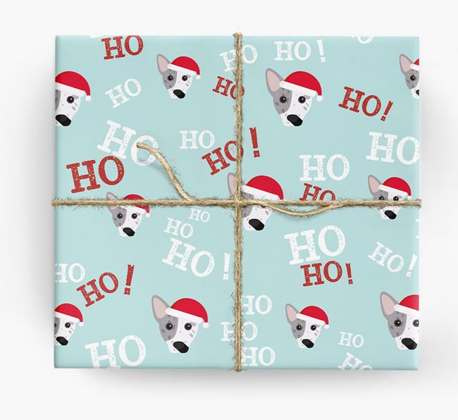 'Ho! Ho! Ho!' Wrapping Paper with your Cojack Icon