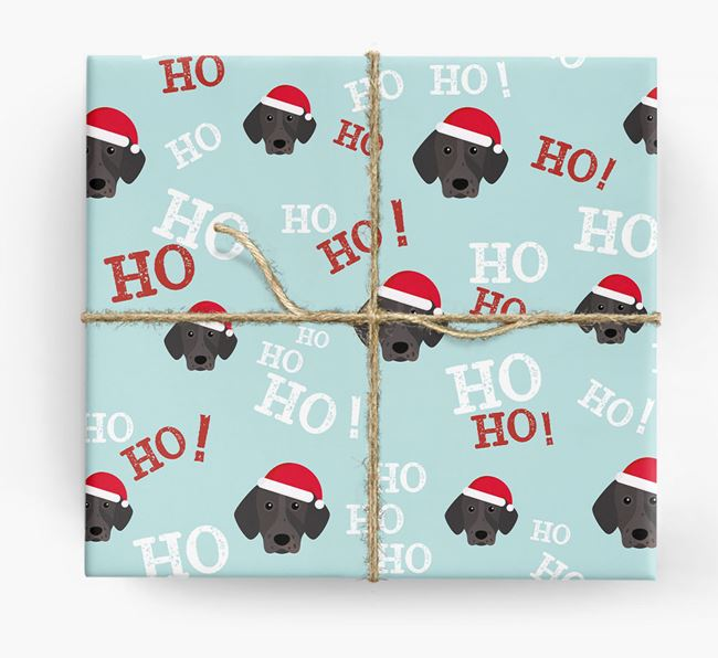 'Ho! Ho! Ho!' Wrapping Paper with your Pointer Icon