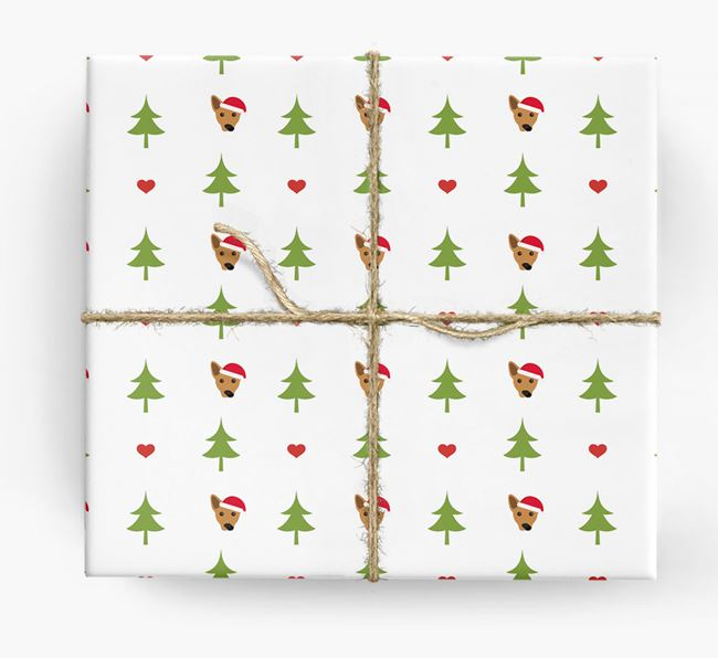 'Christmas Tree' Wrapping Paper with your Cojack Icon Pattern