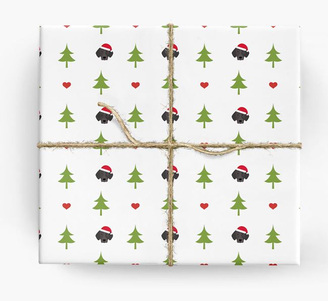 'Christmas Tree' Wrapping Paper with your Pointer Icon Pattern