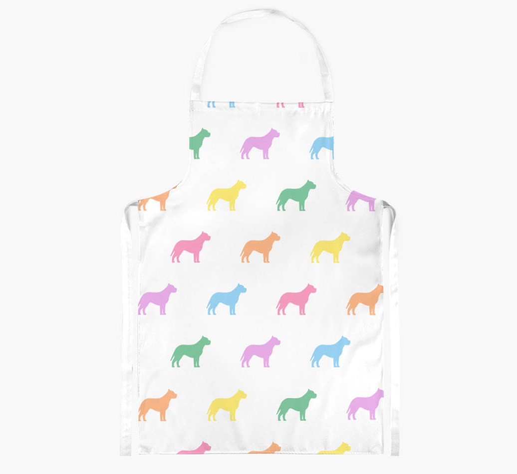 American Pit Bull Terrier {colour} Adult Apron