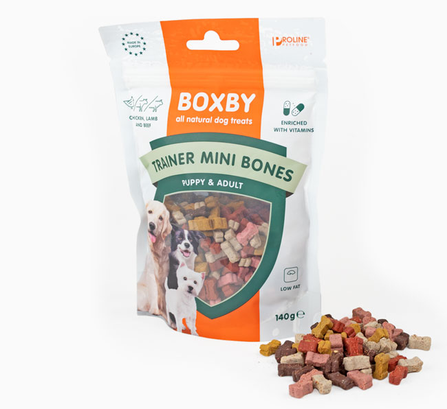 Trainer Mini Bone Treats for your Belgian Shepherd