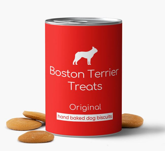 'Boston Terrier Treats' Hand Baked Biscuits