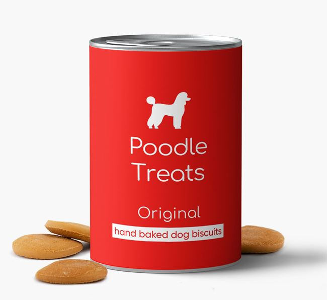 'Poodle Treats' Hand Baked Biscuits
