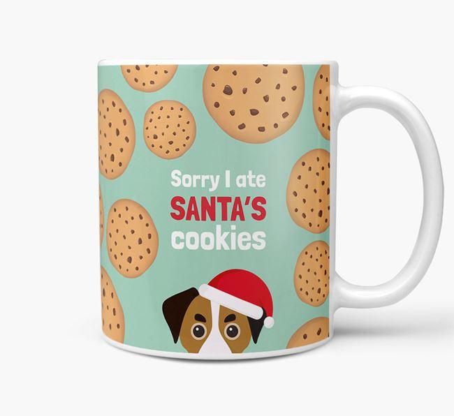 'I ate Santa's Cookies' Christmas Mug with Cheagle Icon