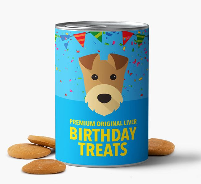 'Airedale Birthday Biscuits