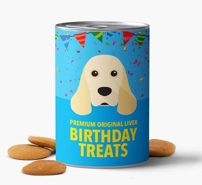 'Cocker Spaniel Birthday Biscuits