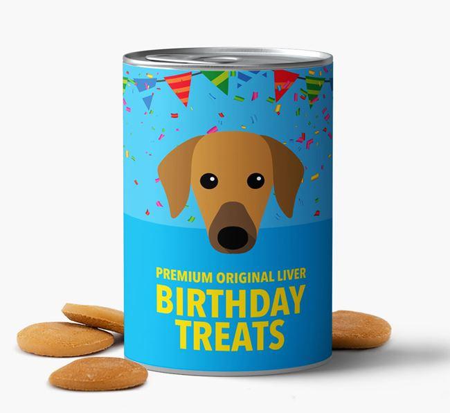 'Azawakh Birthday Biscuits
