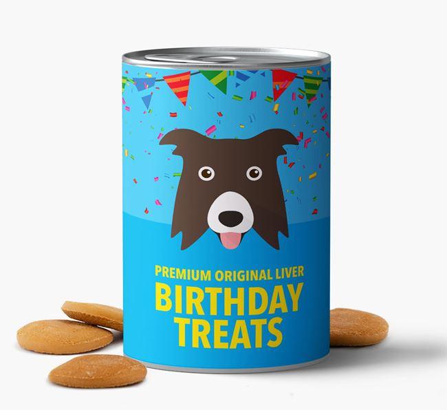 'Border Collie Birthday Biscuits