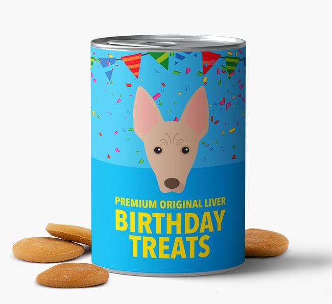 'Mexican Hairless Birthday Biscuits