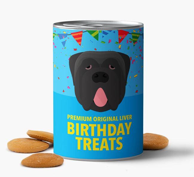'Neapolitan Mastiff Birthday Biscuits