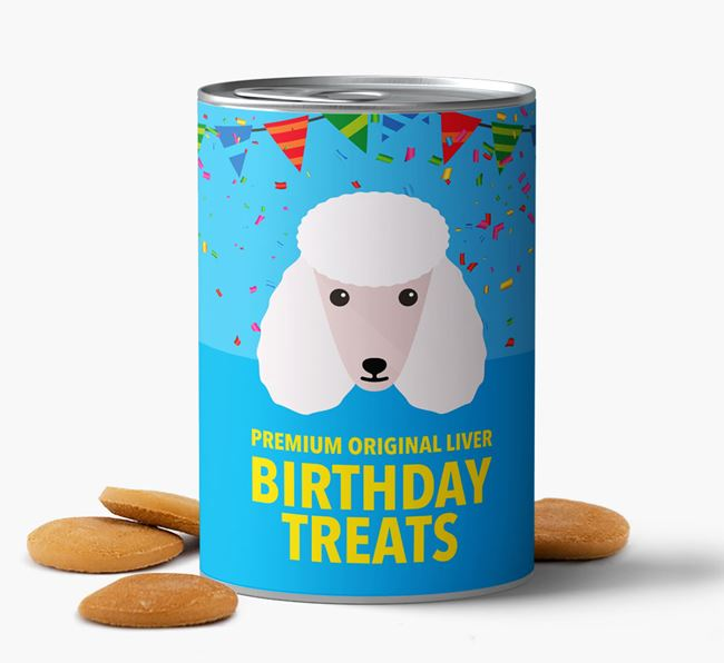 'Poodle Birthday Biscuits