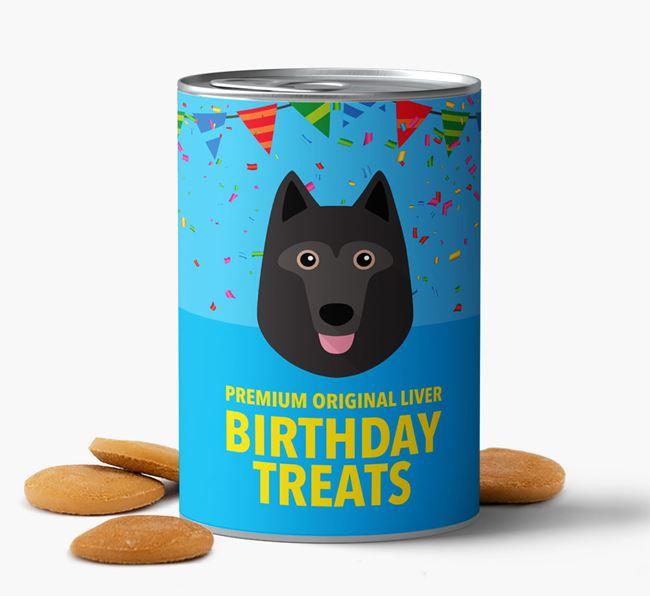 'Schipperke Birthday Biscuits