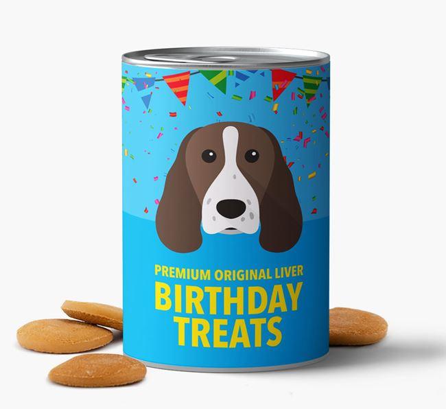 'Springer Spaniel Birthday Biscuits