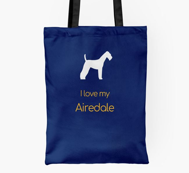 I love my Airedale Shopper Bag