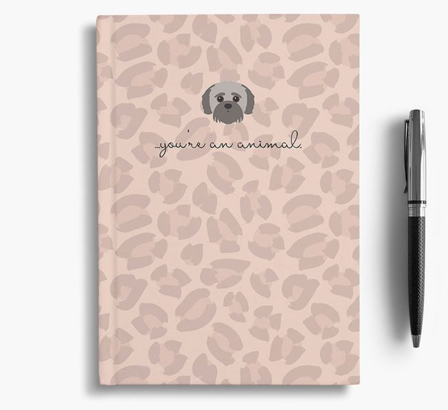 Animal Print Notebook with Jack-A-Poo Icon