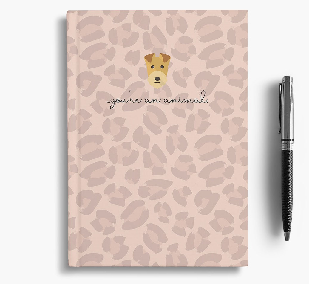 Lakeland Terrier {colour} Animal Print Notebook with Lakeland Terrier Icon