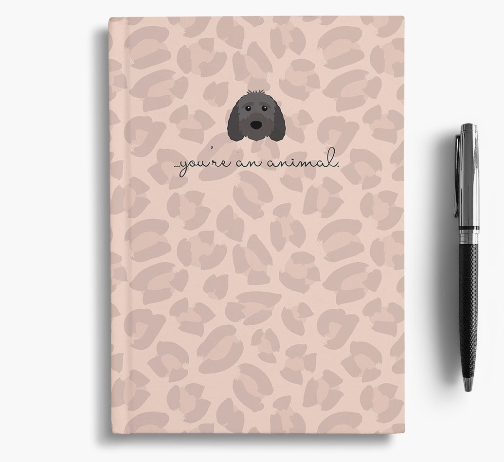 Sproodle {colour} Animal Print Notebook with Sproodle Icon