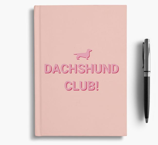 'Dog Club!' Notebook