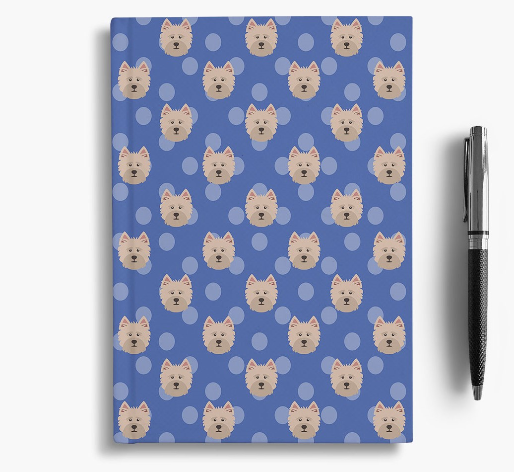 Cairn Terrier Icon Pattern Notebook