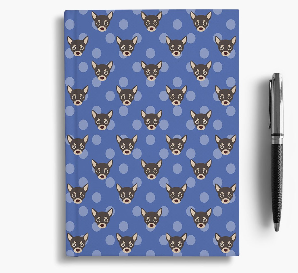 Chihuahua Icon Pattern Notebook