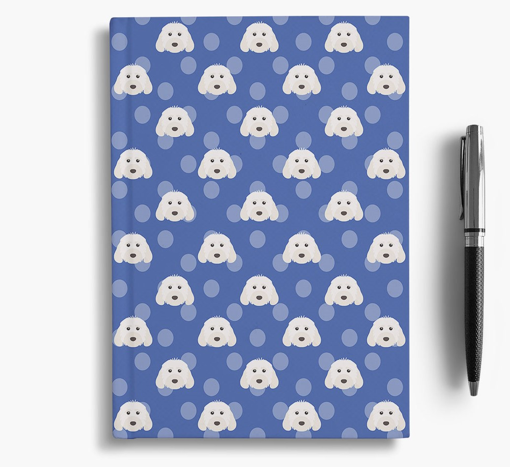 Cockapoo Icon Pattern Notebook